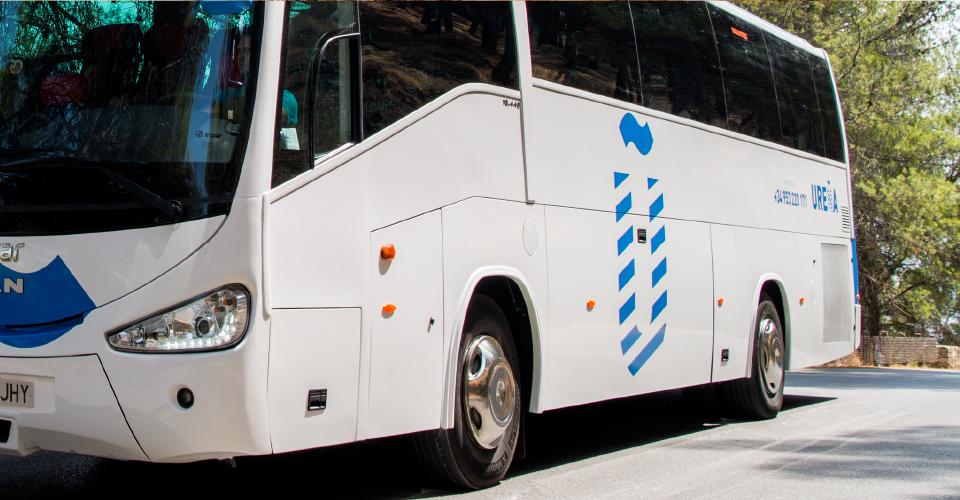 Transportes Ureña de Jaén - Alquiler de autobuses