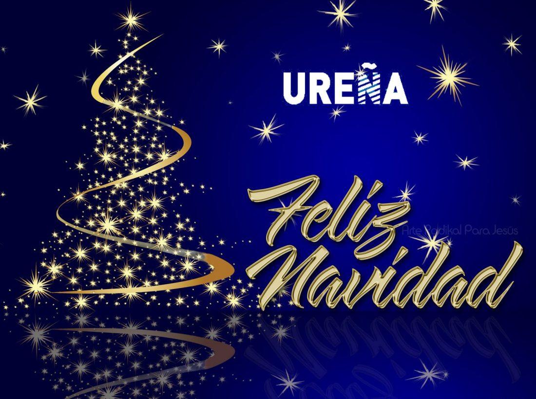 Ureña os desea Feliz Navidad